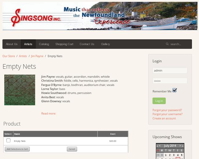 SingSong Inc Logo